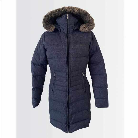 Small COLUMBIA feather down jacket